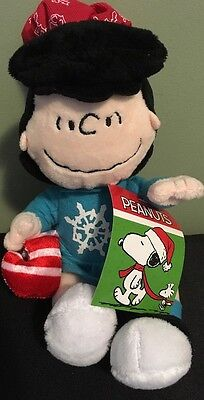 New Peanuts Lucy Musical Christmas Plush plays Jingle Bells tune