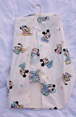 Vintage Dundee Disney Baby Babies Mickey Pluto Minnie Mouse Diaper Stacker
