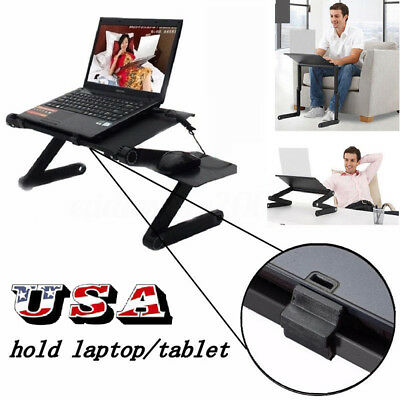 360° Adjustable Foldable Table Portable Folding Laptop Desk Stand Bed Tray