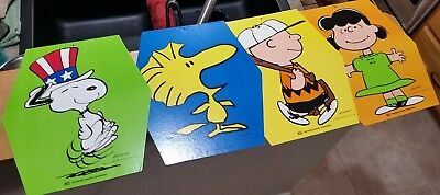 Peanuts Dolly Madison Snoopy Charlie Brown Lucy Woodstock Advertise sign display