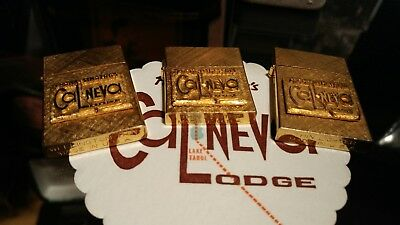Frank Sinatra's Cal-Neva Lodge Gold Tone Lighters Collection Cal Neva Vintage