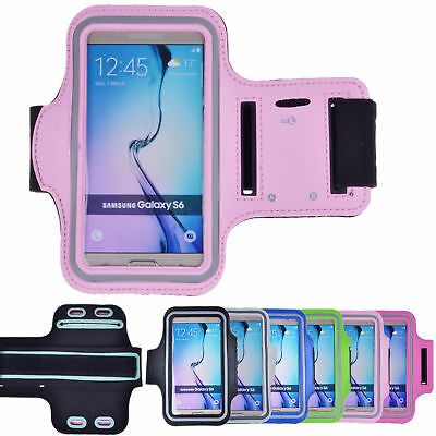 Sport Jogging Arm Band Gym Exercise Running Case Cover For Samsung Galaxy S6