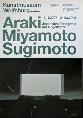 HIROSHI SUGIMOTO  : tolle  OFFSETLITHOGRAFIE , handsigniert ,   84 x 59 cm