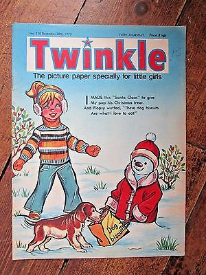 TWINKLE COMIC.  NO.310  DECEMBER 29th  1973.