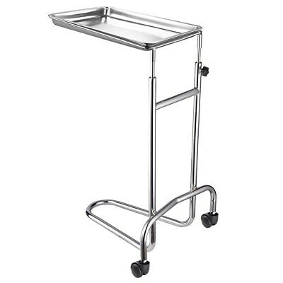 Mayo Instrument Stand Stainless Steel Medical Doctor Tattoo Spa Salon Equipment