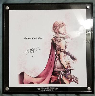 Final Fantasy XIII Lightning Ultimate Member Limited 3rd Anniversary Blank