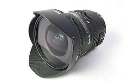 Sigma Wide-Angle Zoom Lens 10-20mm F3.5 EX DC HSM APS-C for Nikon New in Box