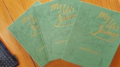 my life's journey, double gift set, ready for you to write and place ptotos in