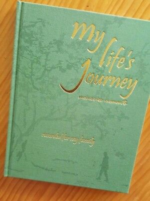 my life's journey, single book, ready for you to write and place ptotos in