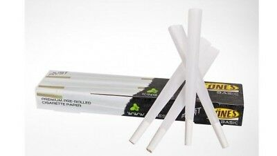 32 Pcs CONES PREMIUM King Size, Pre Rolled Cones 109mm Tip Roach Rolling Papers.
