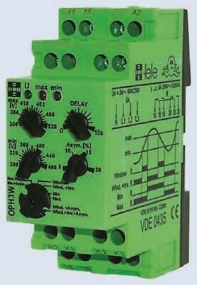 Tele Voltage OUH3W230VAC Monitoring Relay with SPST Contacts 1 Phase 230 V AC