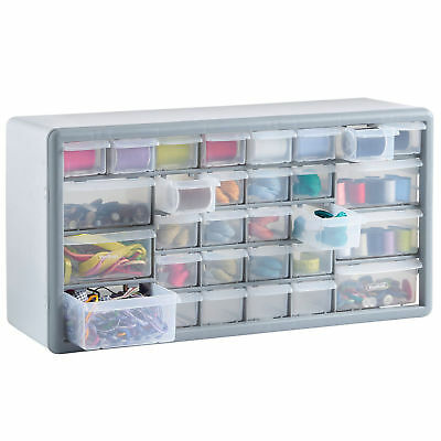 Freestanding 30 Drawers Cabinet Wall Mounted Storage Unit Home Garage Tool Box
