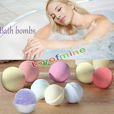 Bath Bombs Bubble Bath Salts Ball Huile essentielle à la main SPA
