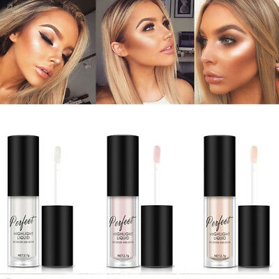 Shimmer Highlighter Liquid Moisture Makeup Face Eye Bronzer Contour Brightener.