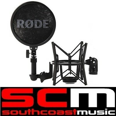 RODE SM6 Microphone Mic Shock Mount with Popshield Recording Studio Quality