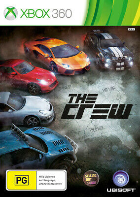 The Crew (Xbox 360) *NEW *SEALED *AUSSIE GAME PAL version for Australian console