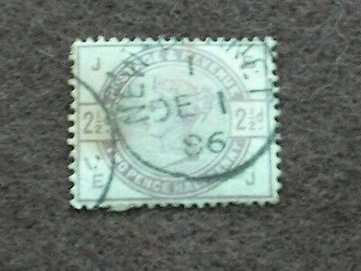 1883-84 GB Stamps Queen Victoria TWO PENCE HALF PENNY LILAC SG190 FINE USED