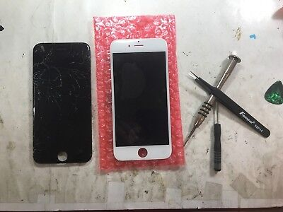 iPhone 6s plus Cracked Glass Screen Repair Replacement Refurbish Service OEM