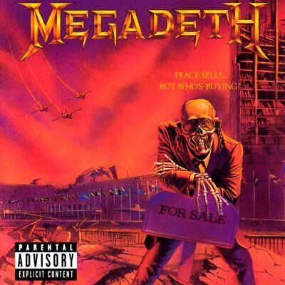 Megadeth-Peace Sells... But Who's Buying?  VINYL NEU