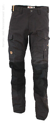 Fjällräven Barents Pro Herrenhose, dark grey/black