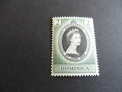 Dominica  1953 Sg 139 Coronation Mnh