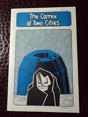 THE COMIX OF TWO CITIES  mini comix signed by Matt Howarth  Howski Studios 1982