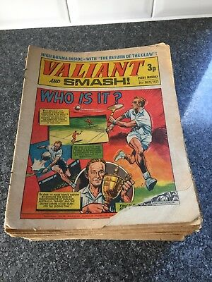 66 Valiant Comics From 1971 to 1975