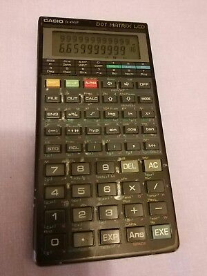 Calculadora Casio fx-4500p dot matrix lcd scientific calculator vintage fx 4500p