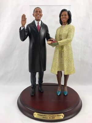 The Danbury Mint - The First Couple Sculpture - Obama