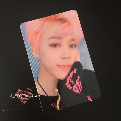 "BTS - Jimin Chimchim Official Album Photocard Karte ""Wings You Never Walk Alone"""