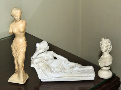 Roman / Greek Statuettes  - Collection of three Figurines