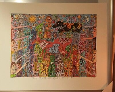 James Rizzi Lithographie