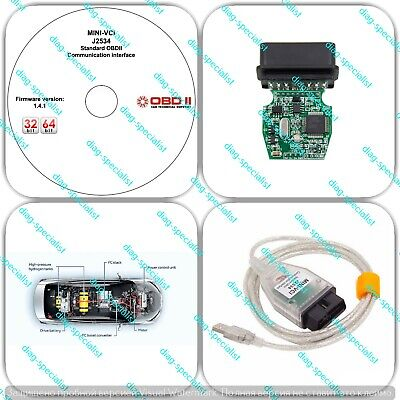 Diagnostic tool adapter kit FT232RL for Evinrude E-Tec Fitch outboard