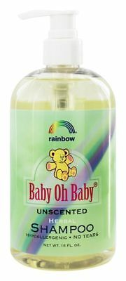 Rainbow Research - Baby Oh Baby Shampoo Unscented - 16 fl. oz.