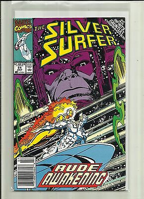 Silver Surfer # 51. Vol 2 . Marvel Comics.