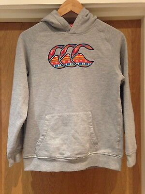 Canterbury Girls Age 14 Grey Graphic Athletic Jumper