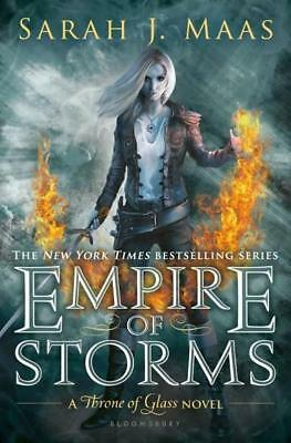 NEW Empire of Storms By Sarah J. Maas Hardcover Free Shipping