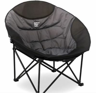 Explore Planet Earth Titan Moon Chair - 200kg Rating - 19mm Steel - Carry Bag