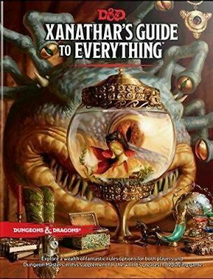 NEW Xanathar's Guide to Everything By Wizards RPG Team Hardcover Free Shipping