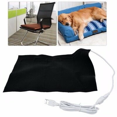 5V USB Carbon Fiber Heating Pad Washable Electric Cloth Heater Sheet With Cable