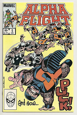 Alpha Flight  #5 Marvel Comics 1983 NM Puck