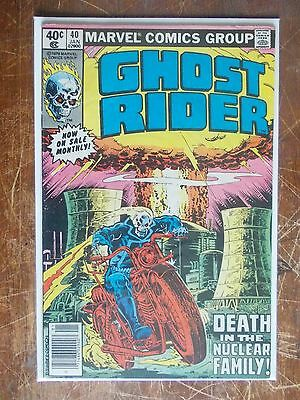 Ghost Rider 40 VF+ to VF/NM