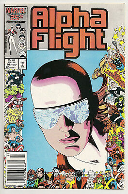 Alpha Flight #40 Marvel Comics 1987 NM