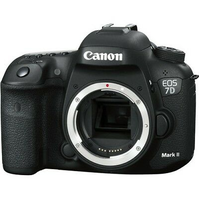 New Canon EOS 7D Mark II 20.2 MP DSLR Camera Body Only MK2 with warranty