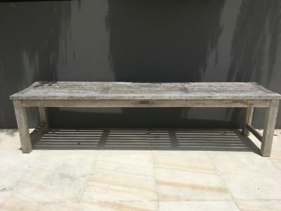 Outdoor Teak Bench - perfect for summer!