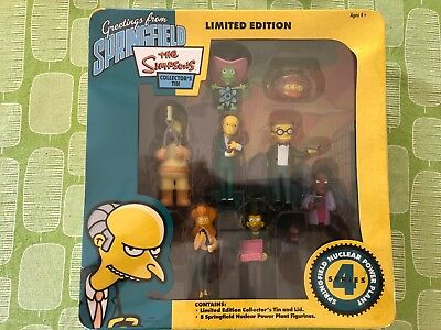 The Simpsons Limited Edition Figurine Collection Series 4