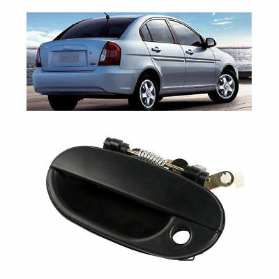 Black Car Front Left Outside Exterior Door Handle For Hyundai Accent 1995-1999