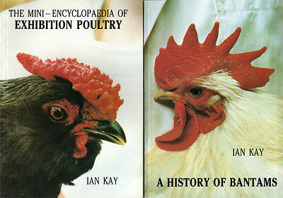 Exhibition Poultry Books by Ian Kay. (Set of 4) Explaining Showing and Rearing