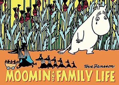 Moomin and Family Life by Tove Jansson Book The Cheap Fast Free Post