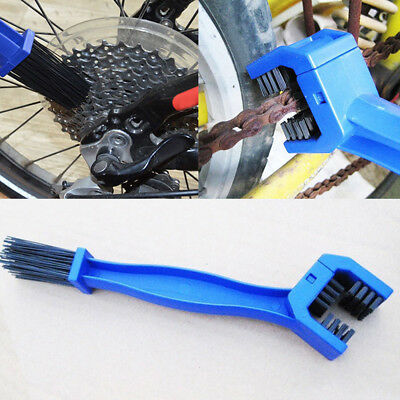 Motorcycle Bike Bicycle Motocross Chain Wheel Cleaning Brush Motorbike Cleaner